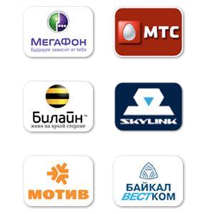 Операторы сотовой связи Увельского
